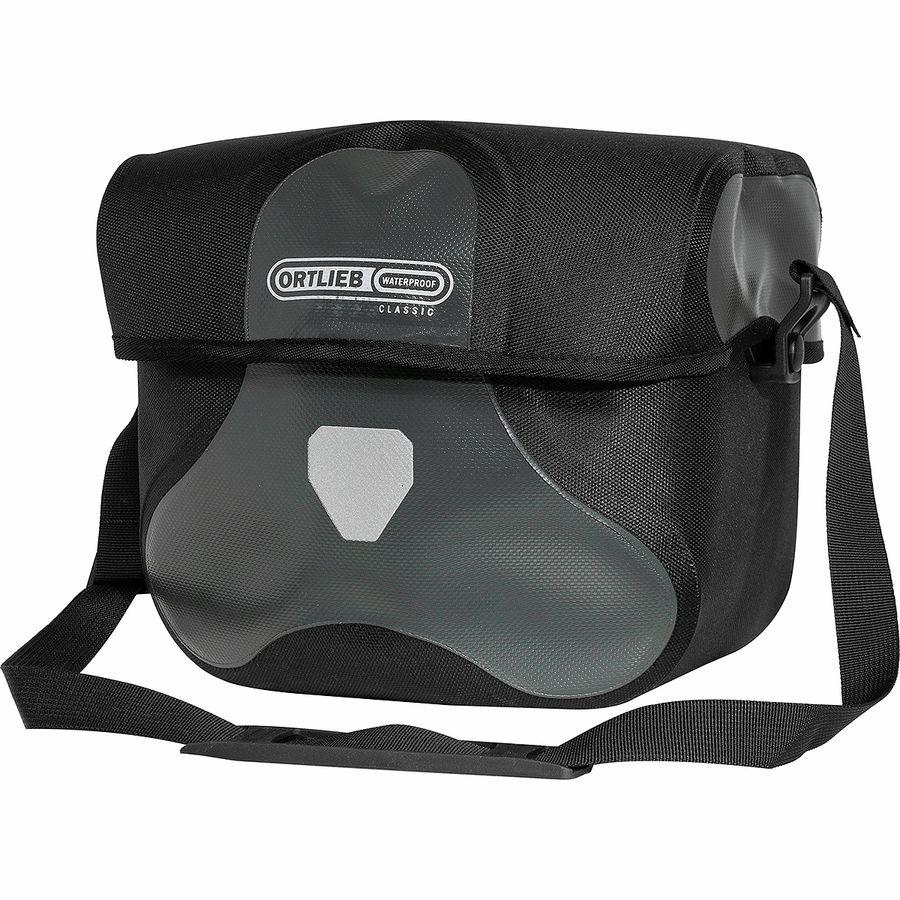 Ortlieb 5L Ultimate6 Classic Handlebar Bag Red//Black