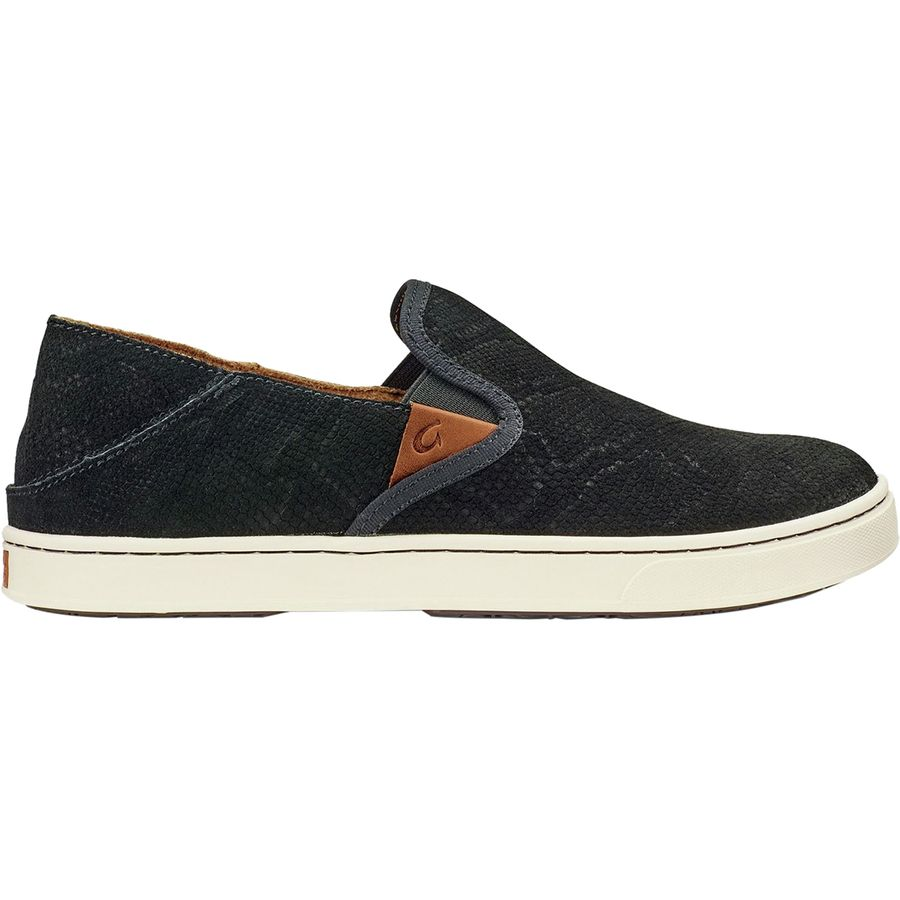 3c2a7b16b775 Olukai - Pehuea Leather Shoe - Women s - Black Honu Black