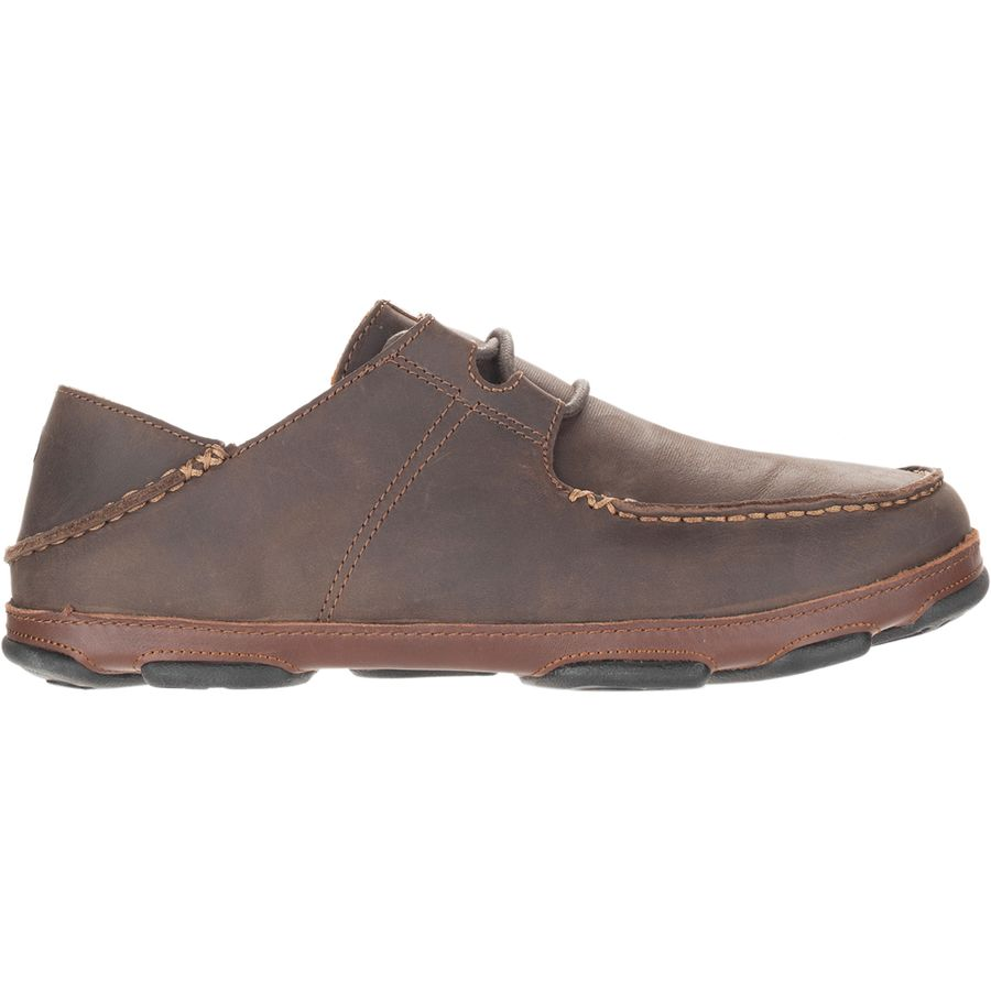 387638915e Olukai - Ohana Lace-Up Shoe - Men s - Dark Wood Toffee