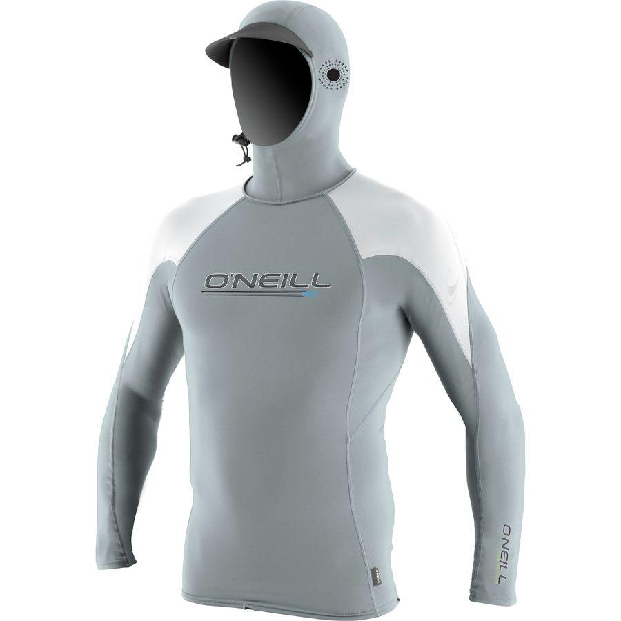 ONeill OZone Crew Rashguard with Hood - Mens