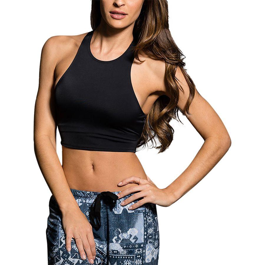 Onzie Peek-A-Boo Racer Sports Bra - Womens