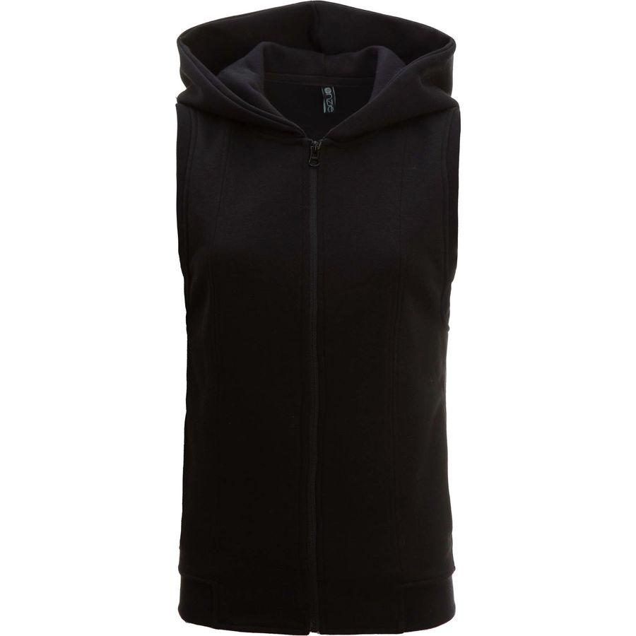 Onzie Sleeveless Hooded Vest - Womens