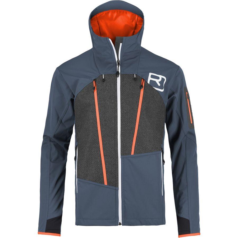 Ortovox Pordoi Hooded Softshell Jacket - Mens