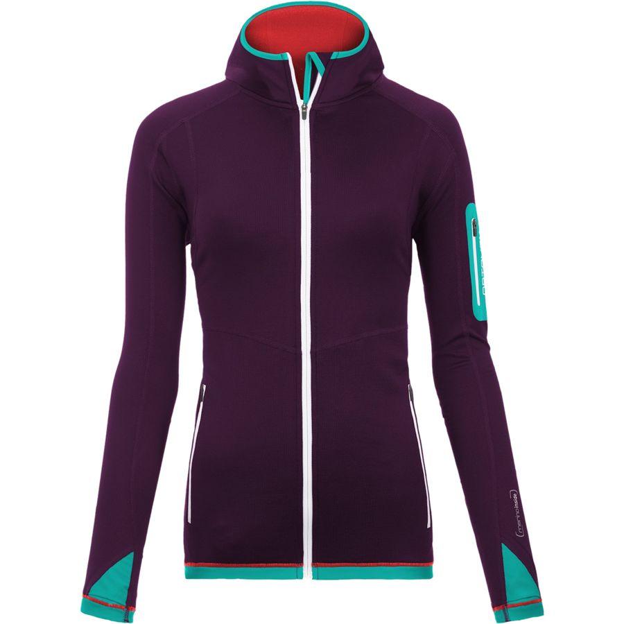 Ortovox Merino Light Hooded Fleece Jacket - Womens