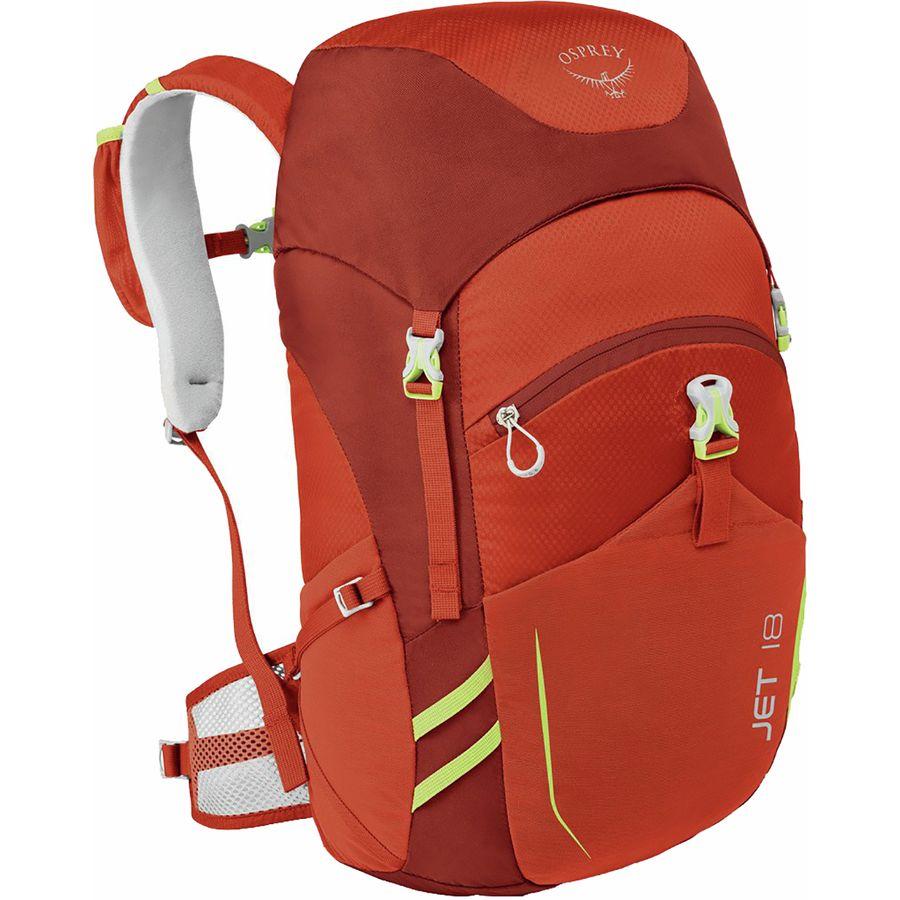 2b1fd9abdafb Osprey Packs - Jet 18L Backpack - Kids  - Strawberry Red