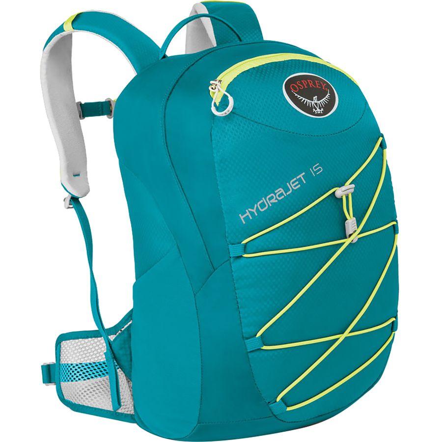 b89fca4da3 Osprey Packs - HydraJet 15L Backpack - Kids  - Real Teal