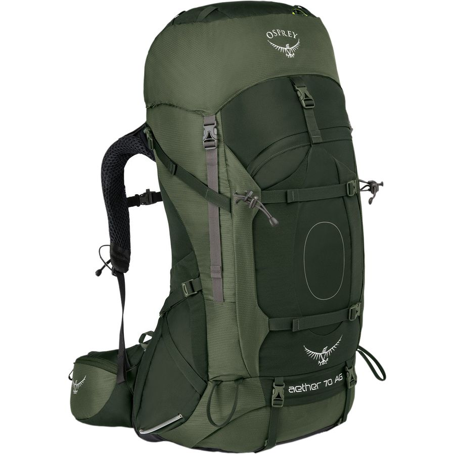 Osprey Packs - Aether AG 70L Backpack - Adirondack Green 825d984c6f596
