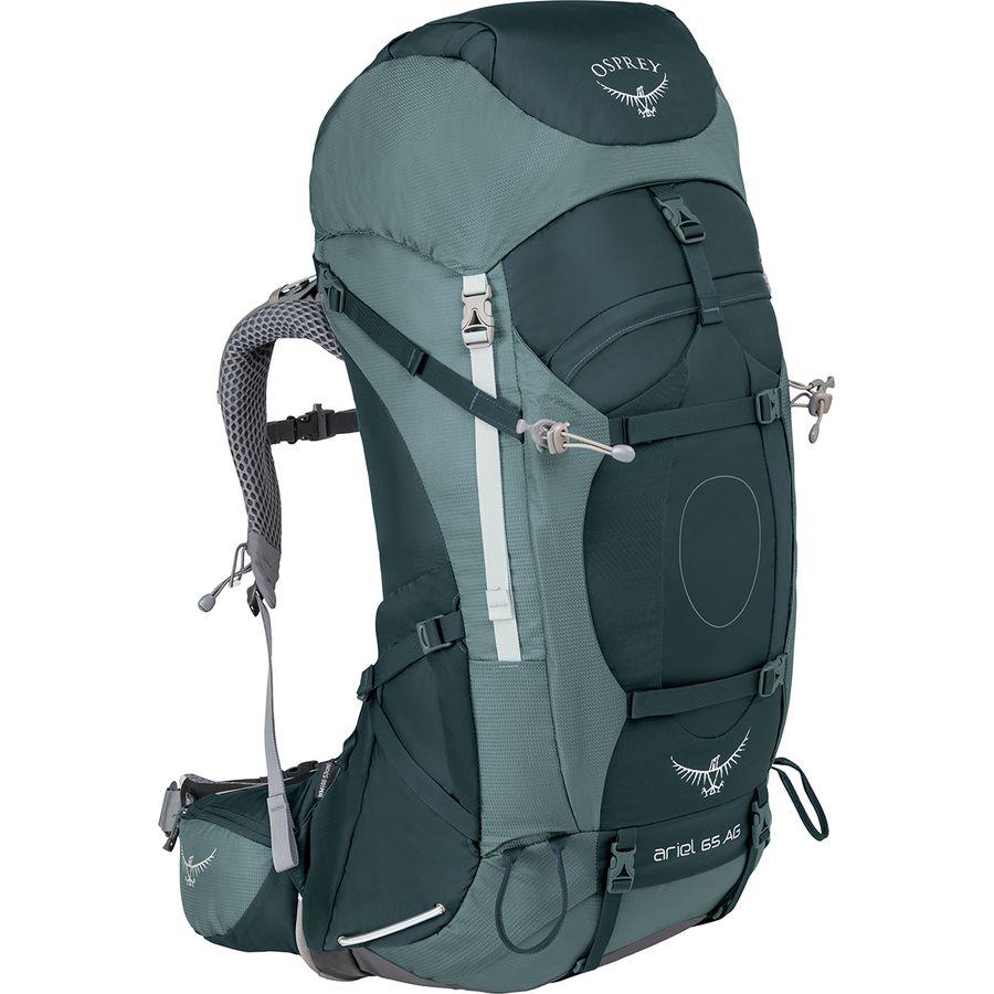 Osprey Packs - Ariel AG 65L Backpack - Women s - Boothbay Grey 6af65ba512
