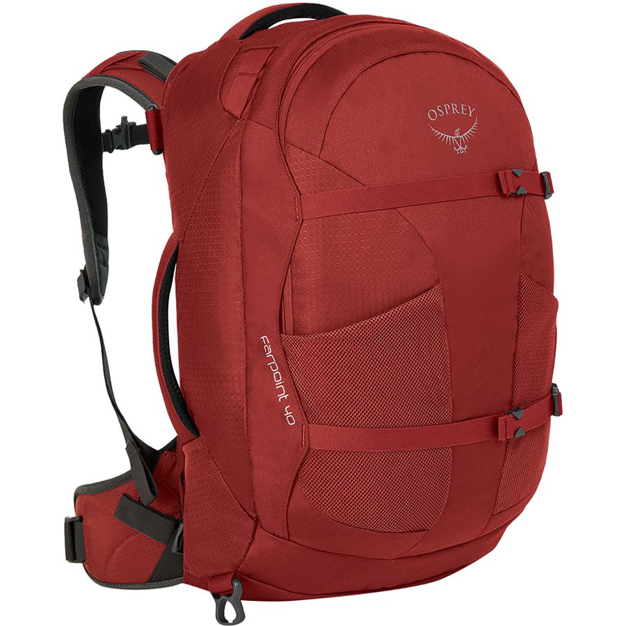 d327c0162119 Osprey Packs - Farpoint 40L Backpack - Men s - Jasper Red