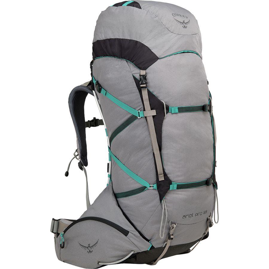 Osprey Packs Ariel Pro 65l Backpack Women S Voyager Grey