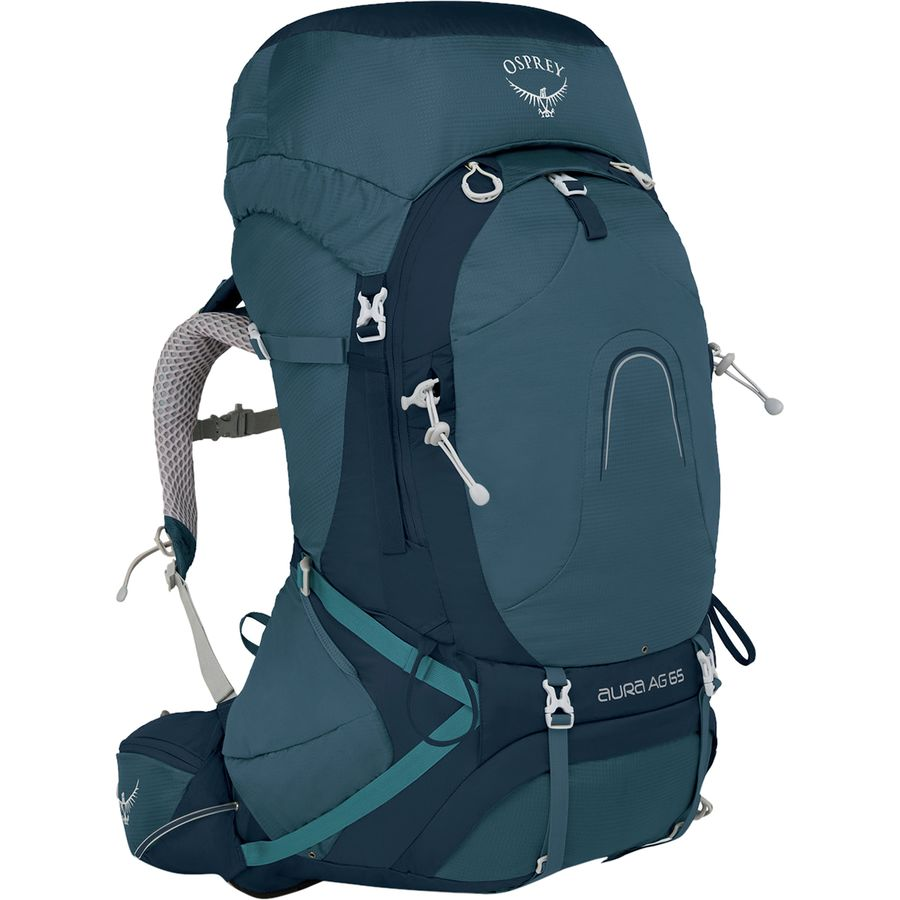 Osprey Packs - Aura AG 65L Backpack - Women s - Challenger Blue 3bf761e6bb