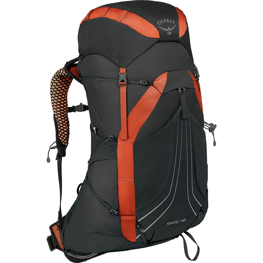 b211384ea780 Osprey Packs - Exos 48L Backpack - Blaze Black