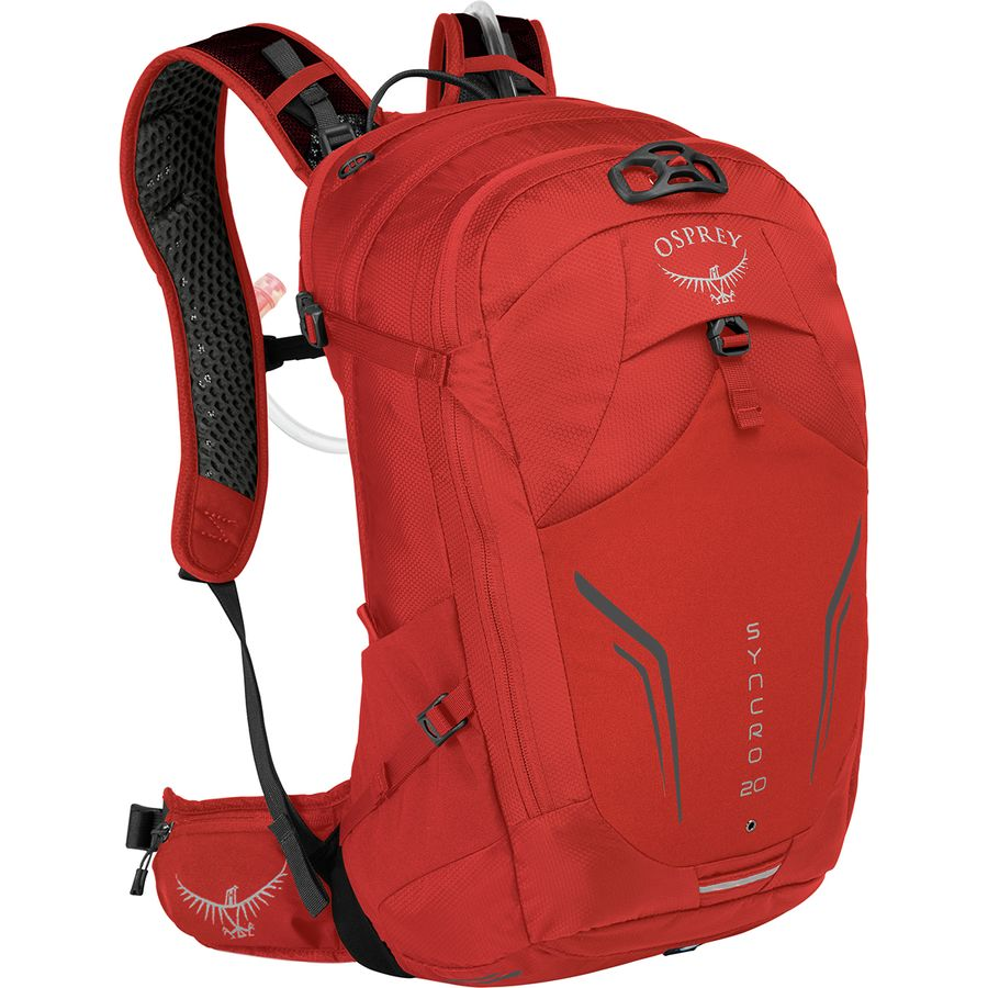 d3c2201082 Osprey Packs - Syncro 20L Backpack - Firebelly Red