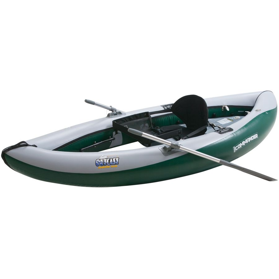 Outcast osg commander raft for Fly fishing raft for sale