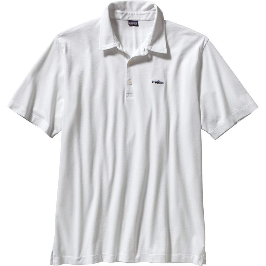 Patagonia Trout Fitz Roy Polo Shirt - Mens