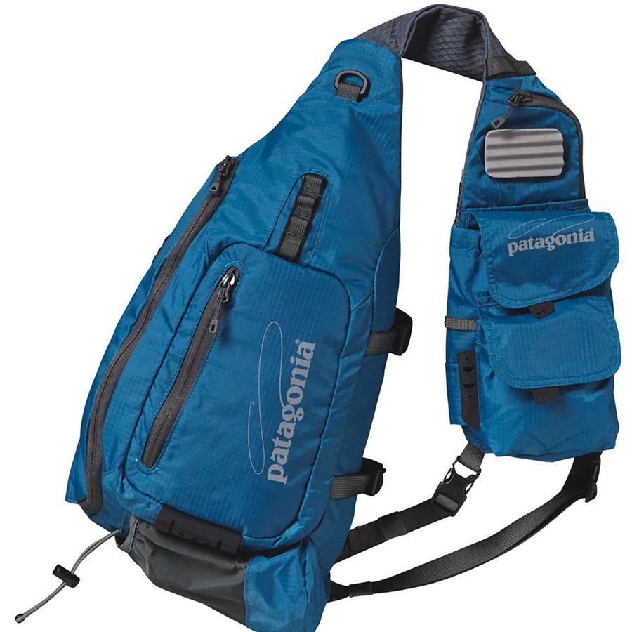 Patagonia vest front sling fly fishing 488cu in for Fly fishing patagonia