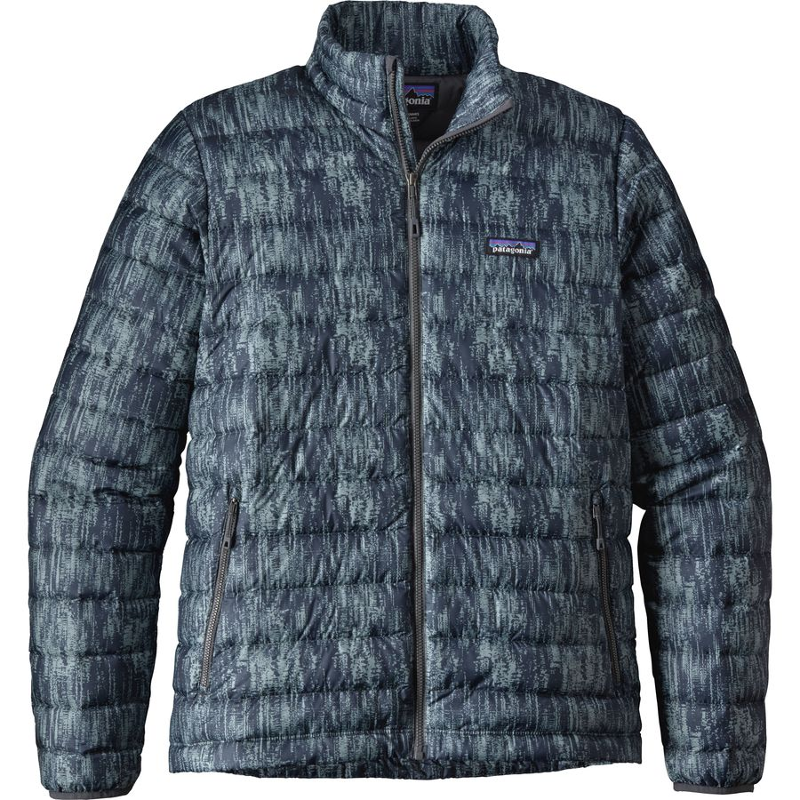 Patagonia Down Sweater Jacket - Men's - Up to 70% Off | Steep and ...