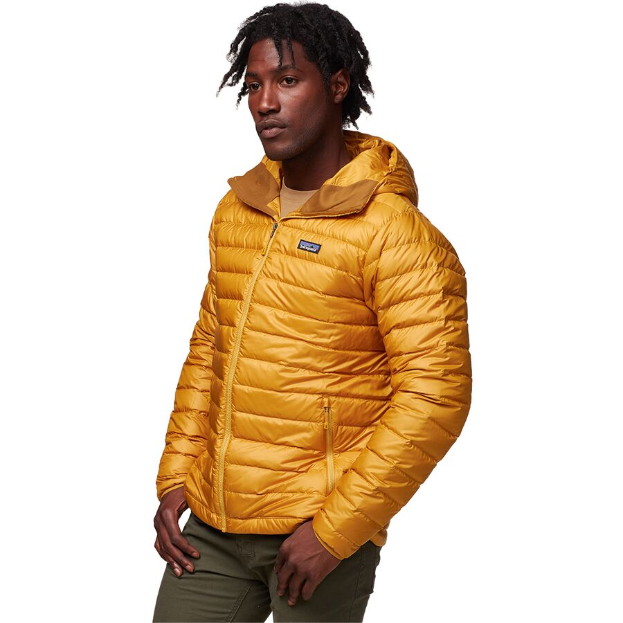 2020 NEW Mens Down Jacket,Workwear jacket trend clothing,Zipped Mens Outdoor Winter Coats,For Hiking Skiing Casual,Black-M