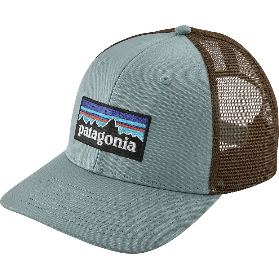 8337493a325 Patagonia - P6 Trucker Hat - Cadet Blue