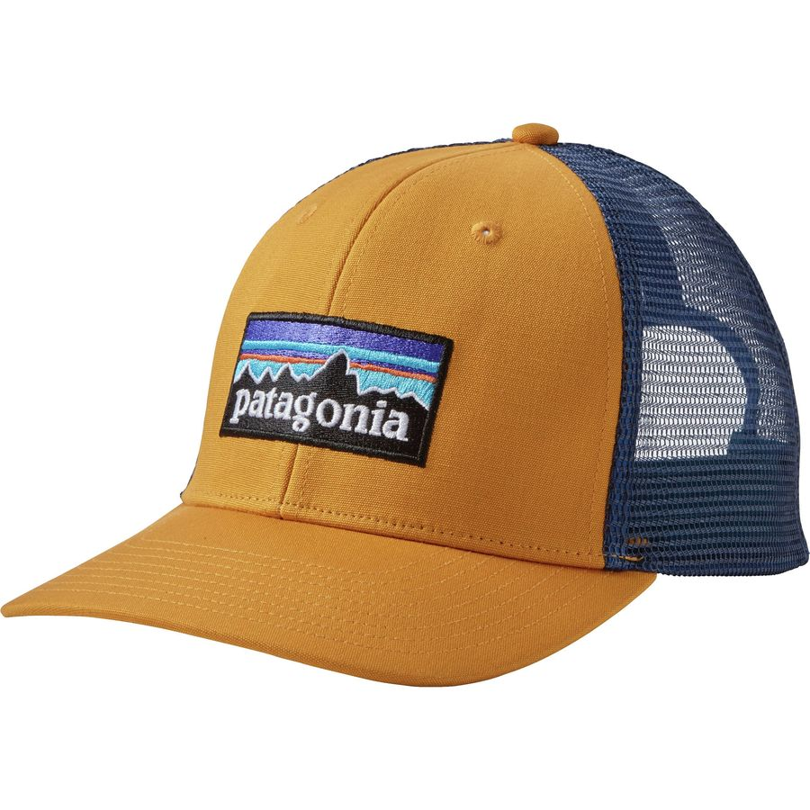 Patagonia p6 trucker hat for Patagonia fishing hats