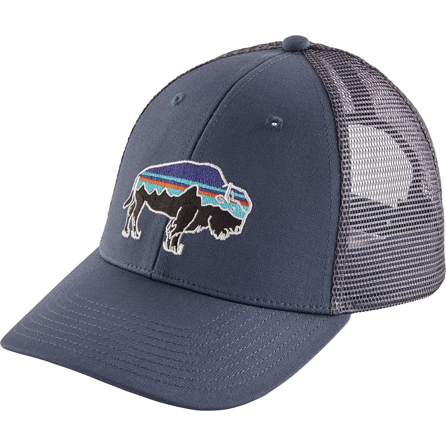 62fd20e3420ce Patagonia Fitz Roy Bison LoPro Trucker Hat