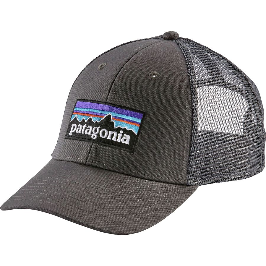 Patagonia - P6 LoPro Trucker Hat - Forge Grey Forge Grey 9a6d629a3dc