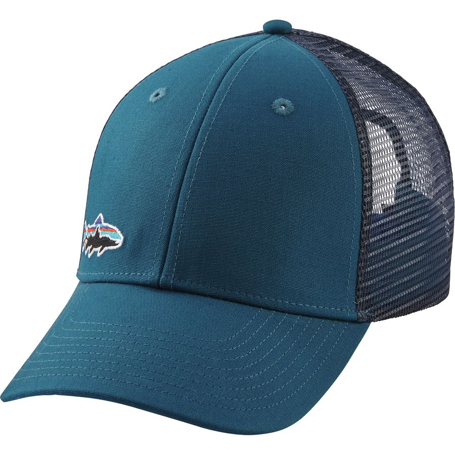 Patagonia small fitz roy trout lopro trucker hat for Patagonia fish hat
