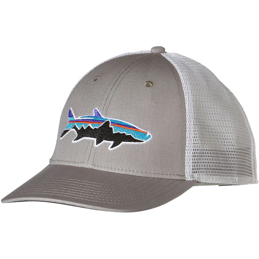 21291a3174a Patagonia - Fitz Roy Tarpon LoPro Trucker Hat - Drifter Grey