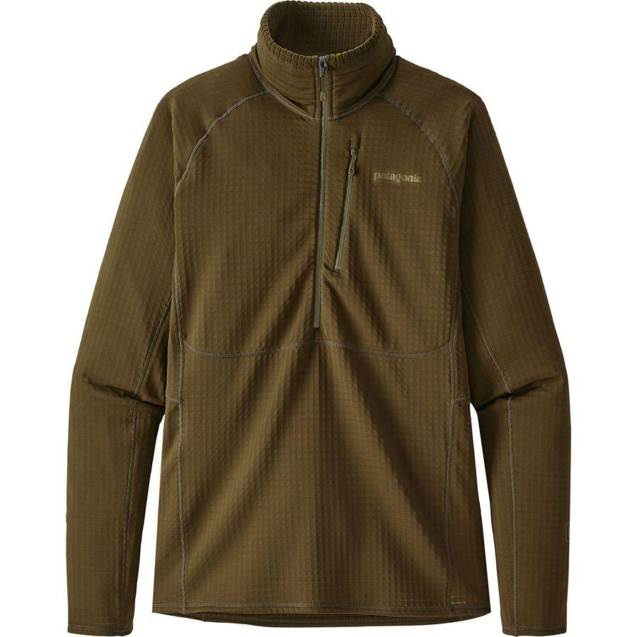 Patagonia R1 Fleece 1 2 Zip Pullover Men S Backcountry Com