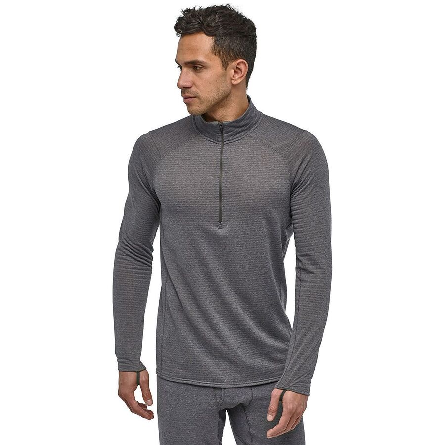ae544f6a5af82 Patagonia - Capilene Thermal Weight Zip-Neck Top - Men s - Forge  Grey Feather