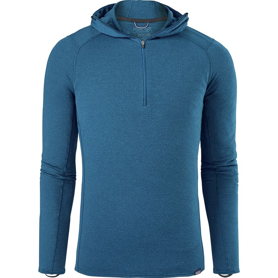 5cfa0d00af107 Patagonia Capilene Thermal Weight Hooded Zip-Neck Top - Men s ...