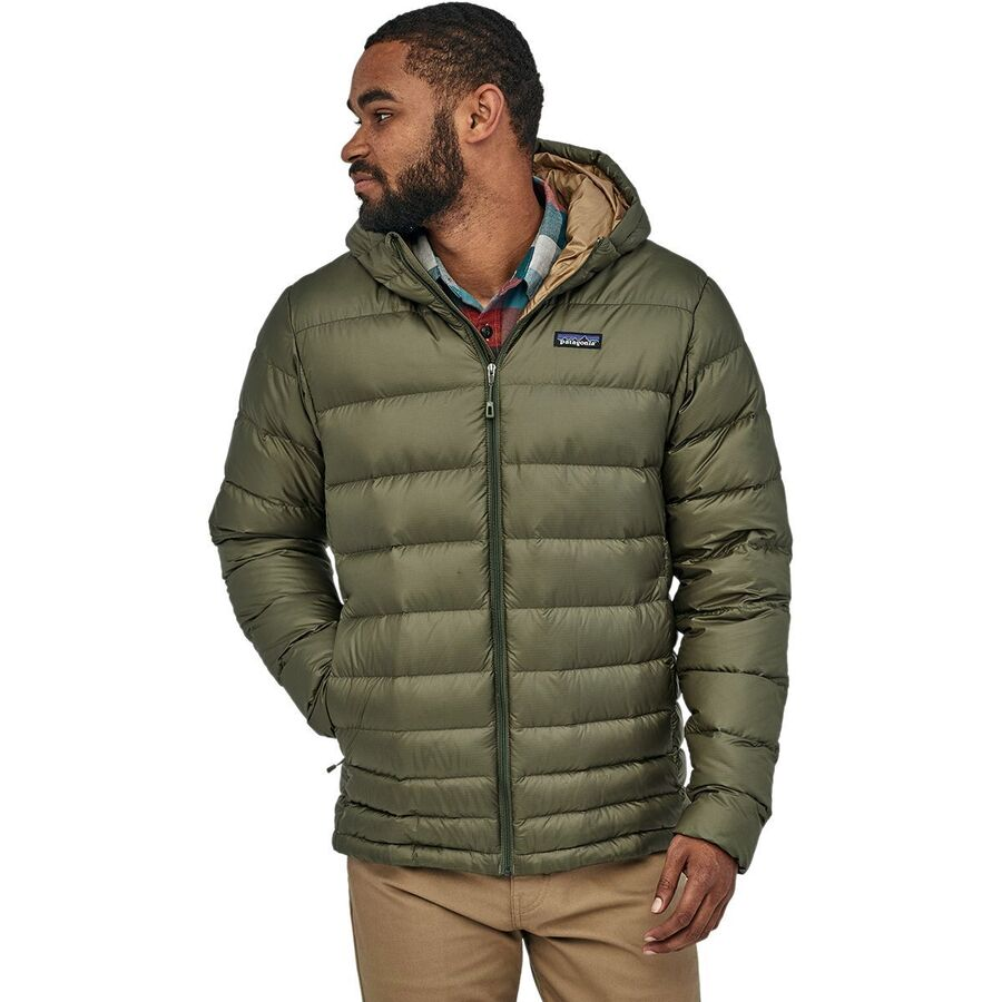 Patagonia Hi Loft Hooded Down Sweater Jacket Men S