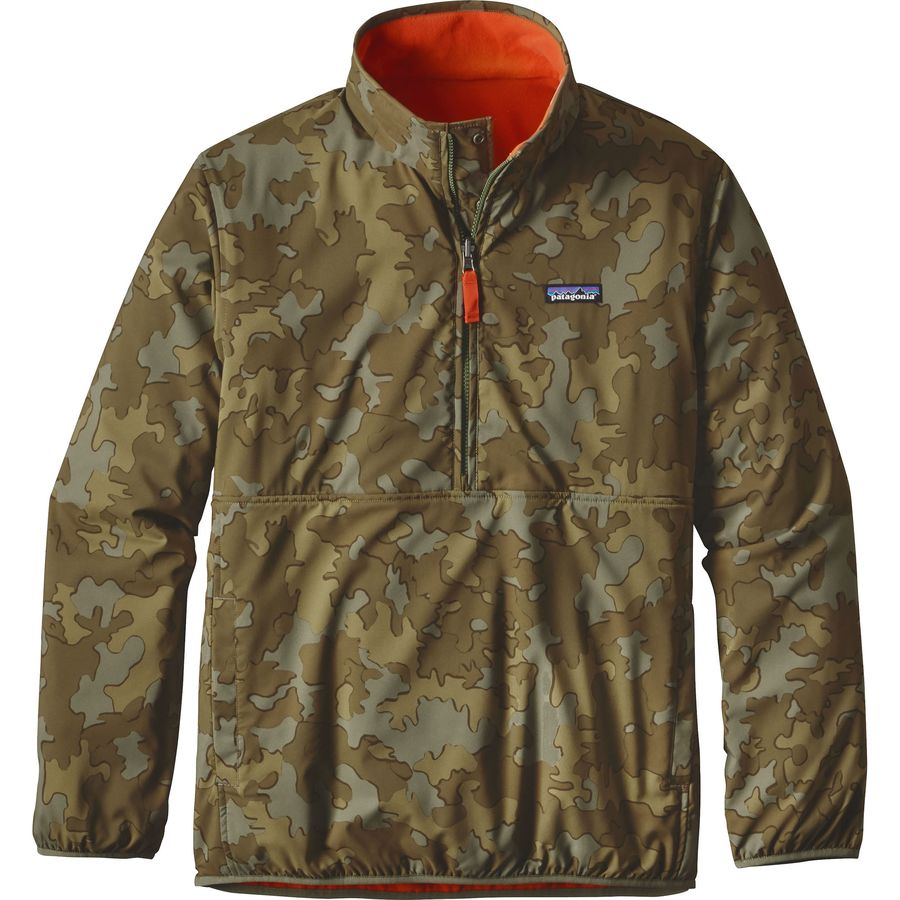 Patagonia Reversible Snap-T Glissade Fleece Pullover - Men's ...