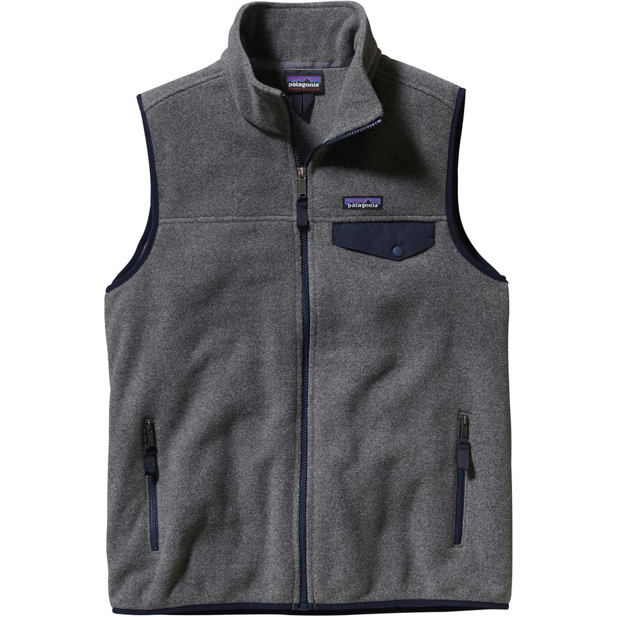 Patagonia Lightweight Synchilla Snap-T Fleece Vest - Men's ...