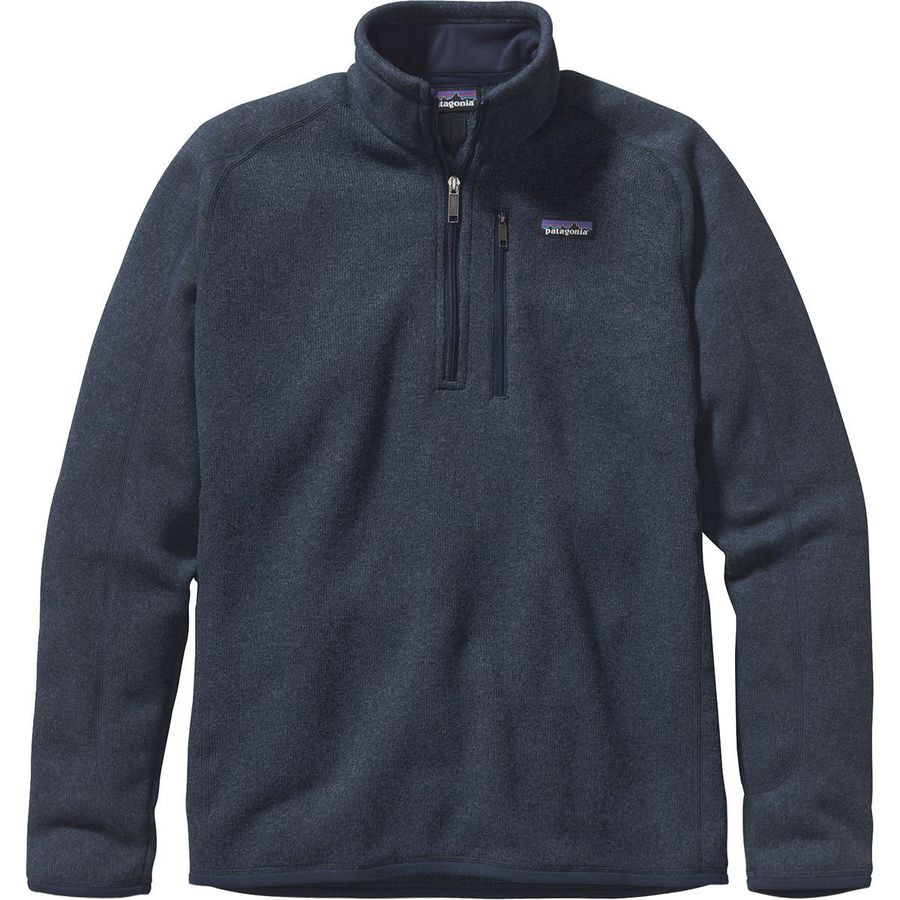 Patagonia - Better Sweater 1 4-Zip - Men s - Classic Navy a4230f25009e