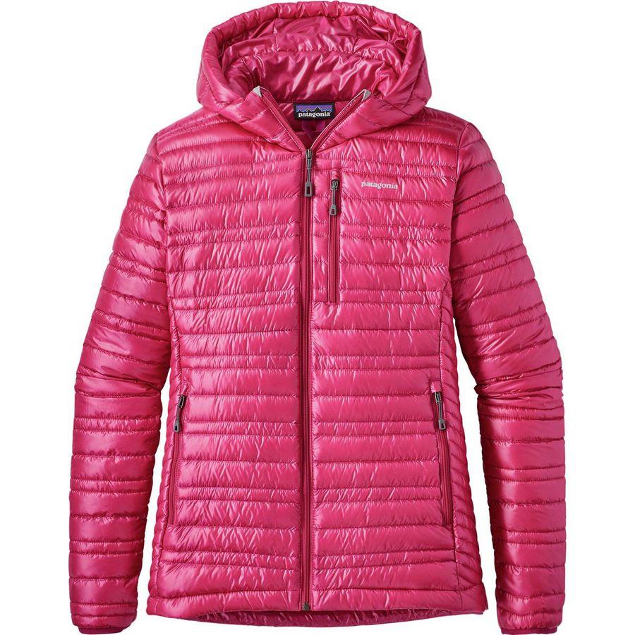 patagonia ultralight down hooded jacket