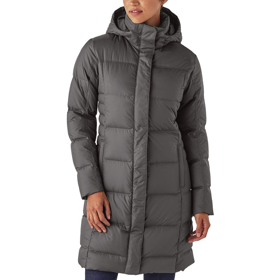 Patagonia - Down With It Parka - Women s - Forge Grey 171d2fb05