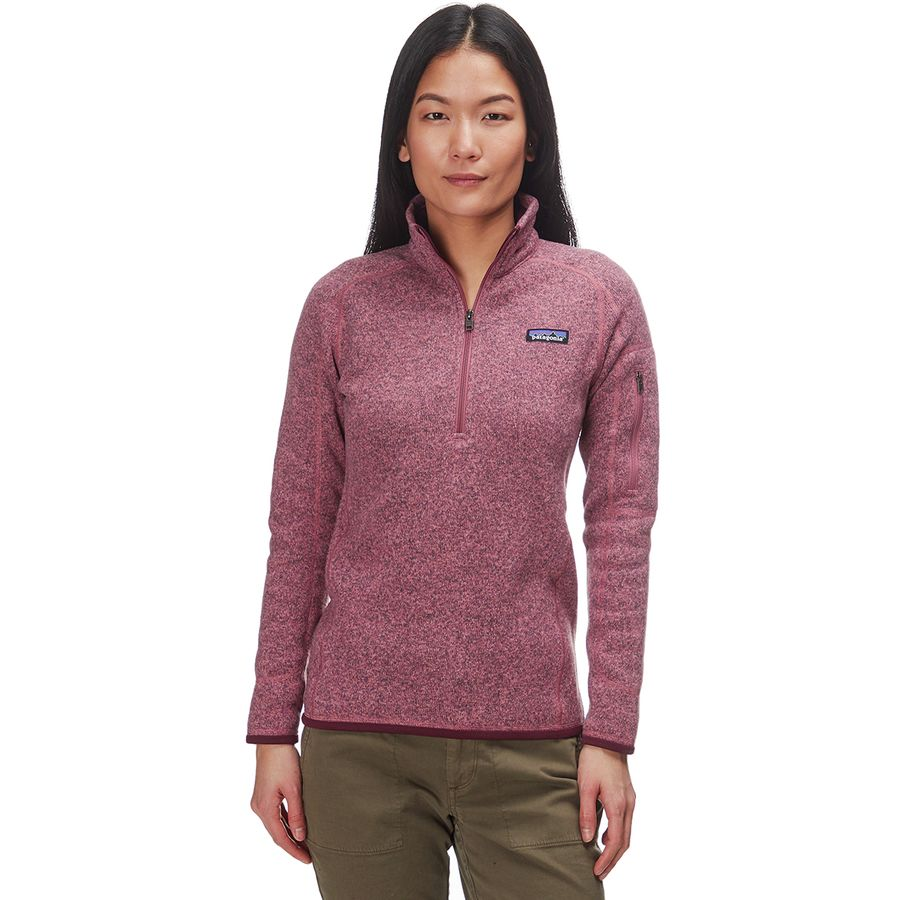 c06c252ef Patagonia Better Sweater 1/4-Zip Fleece Jacket - Women's