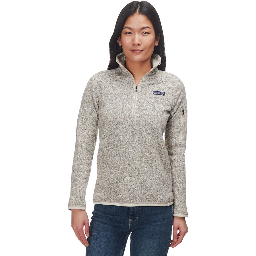 Patagonia - Better Sweater 1/4-Zip Fleece Jacket - Women's - Pelican - Patagonia Better Sweater 1/4-Zip Fleece Jacket - Women's
