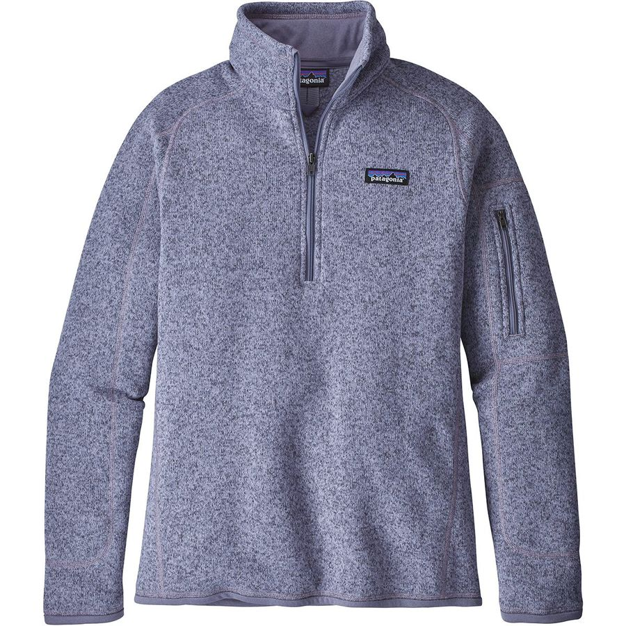 Patagonia Better Sweater 1 4-Zip Fleece Jacket - Women s ... 50bbb3758b