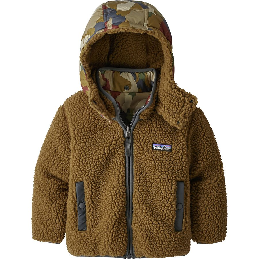 Patagonia Baby Tribbles Jacket: Patagonia Reversible Tribbles Hooded Jacket