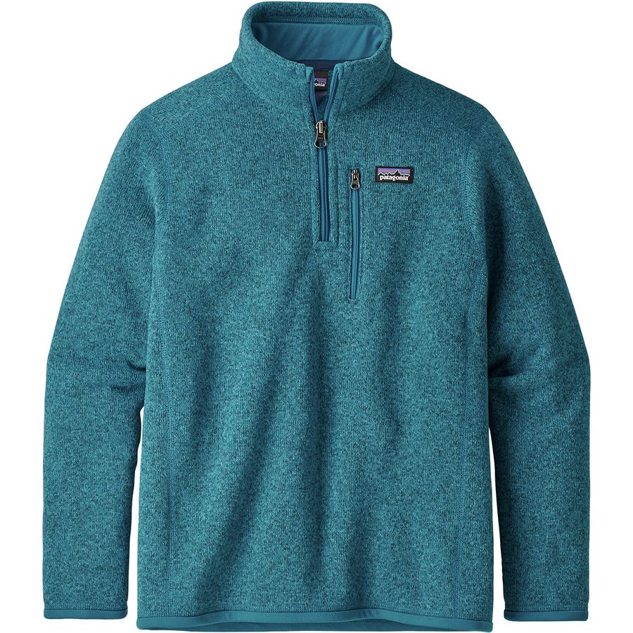 92da771d0 Patagonia Better Sweater 1/4-Zip Fleece Jacket - Boys' | Backcountry.com