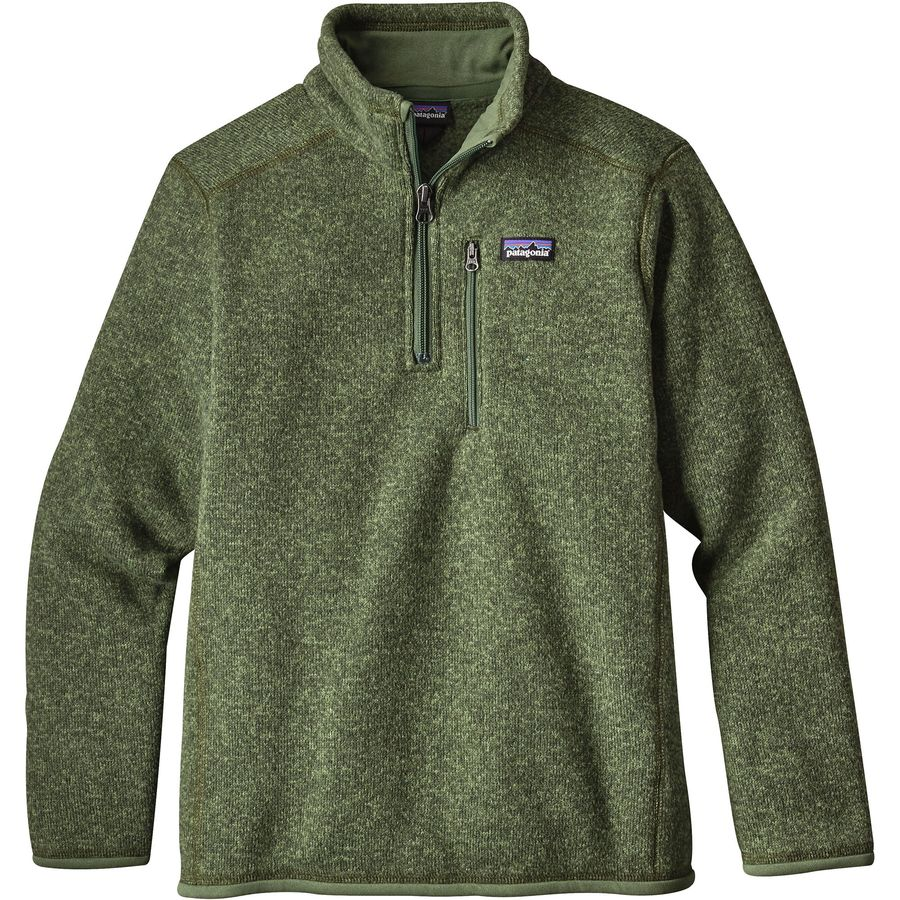 Patagonia Better Sweater 1 4 Zip Fleece Jacket Boys