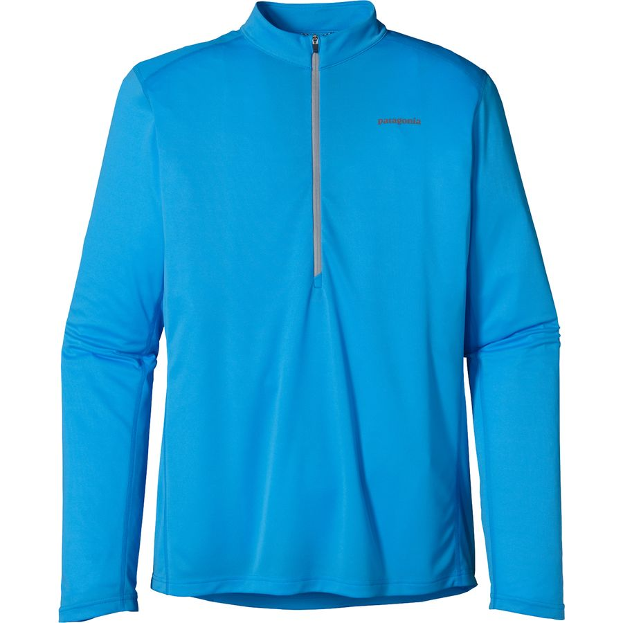 Patagonia Fore Runner Zip Neck Shirt - Long-Sleeve - Men's ...