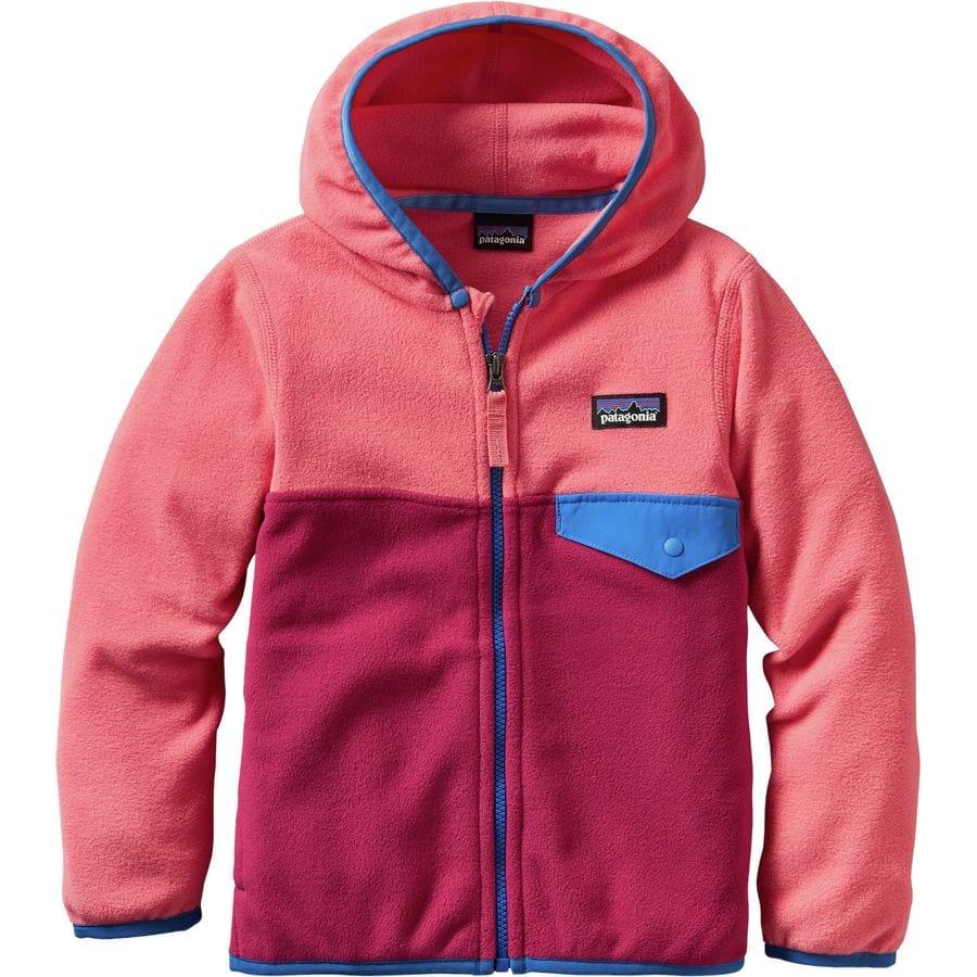 Patagonia Micro D Snap-T Fleece Jacket - Toddler Girls ...