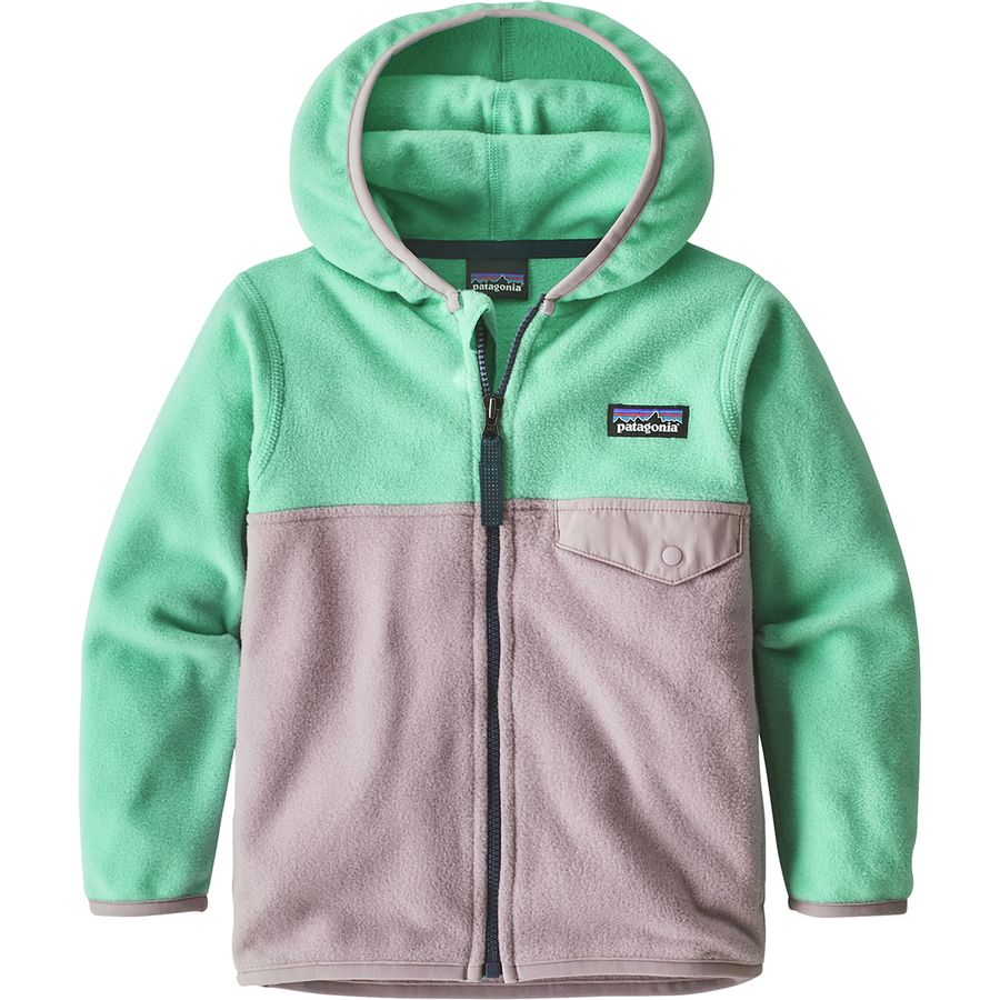 Patagonia Micro D Snap T Fleece Jacket Toddler Girls