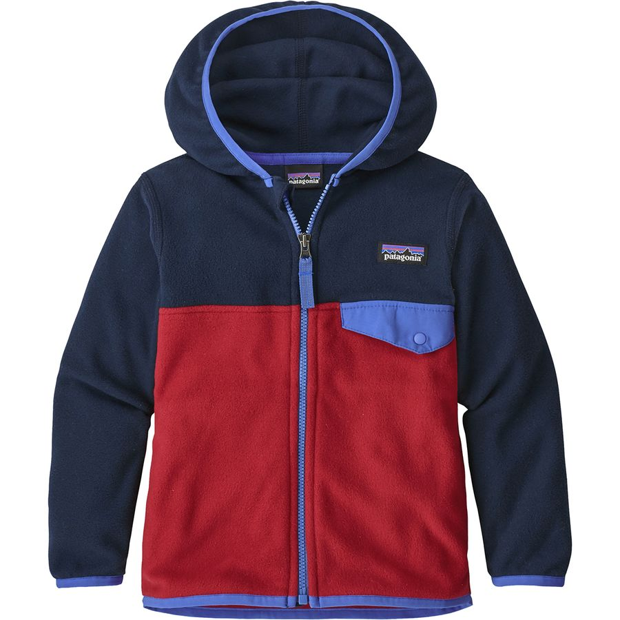 Patagonia Micro D Snap T Fleece Jacket Infant Boys