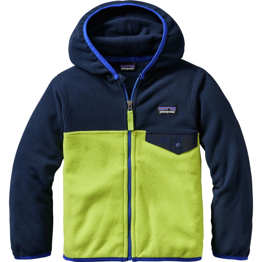 Patagonia Micro D Snap T Fleece Jacket Toddler Boys