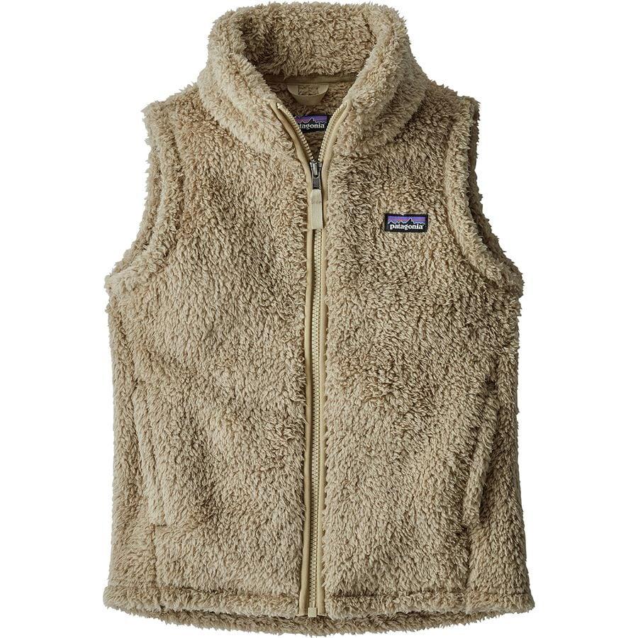 8059678d403f8 Patagonia - Los Gatos Fleece Vest - Girls  - El Cap Khaki El Cap