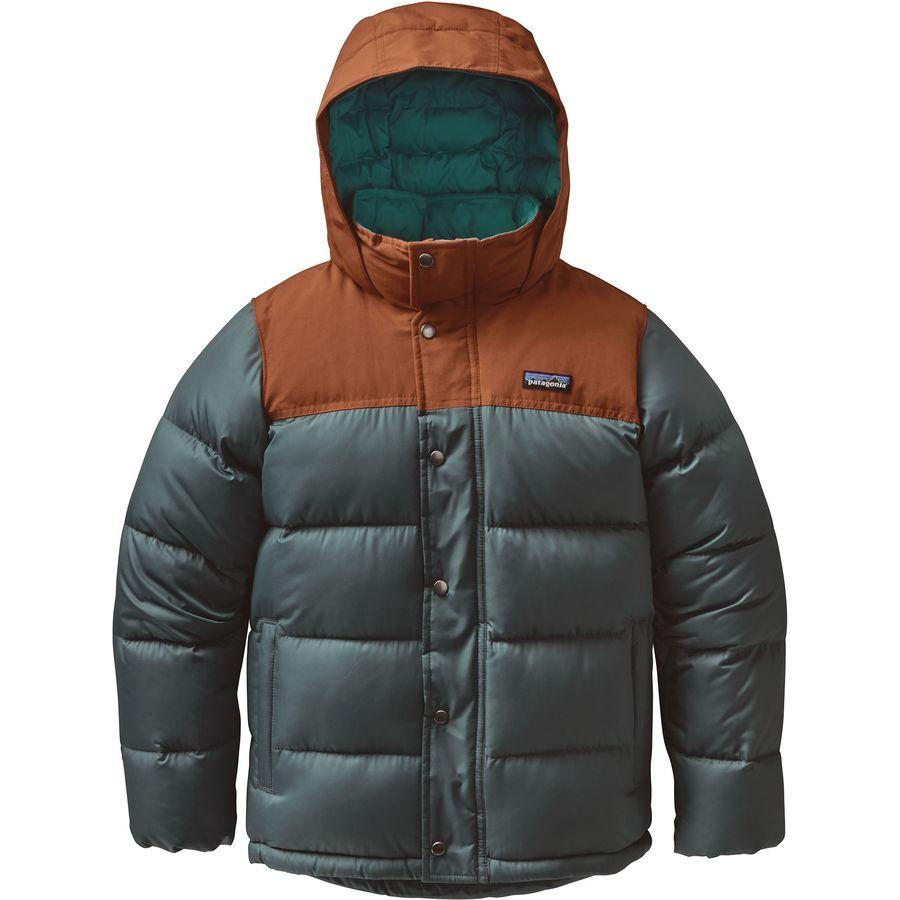 Patagonia Bivy Down Hooded Jacket Boys Backcountry Com